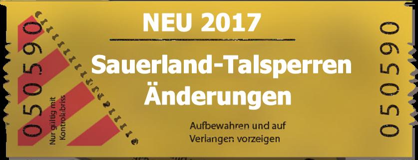 Hinweis auf Änderungen bei Angelscheinen für Sauerland Talsperren