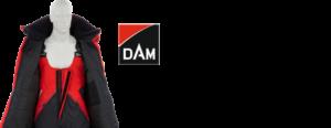 DAM Steelpower Floatation Suite mit Logo & Text