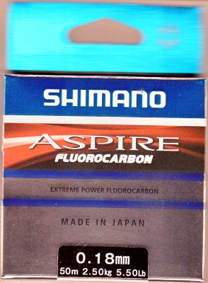 Shimano Aspire Fluorocarbon 0,18mm, 50m