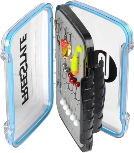 Spro Freestyle Rigged Box Größe S, 15,4x10,6x4,5 cm
