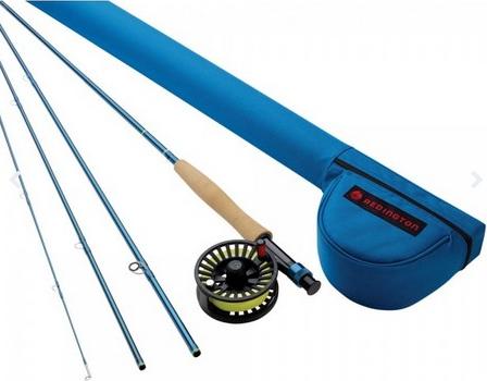 Redington Crosswater Fliegenrute mit Rolle & Transportrohr